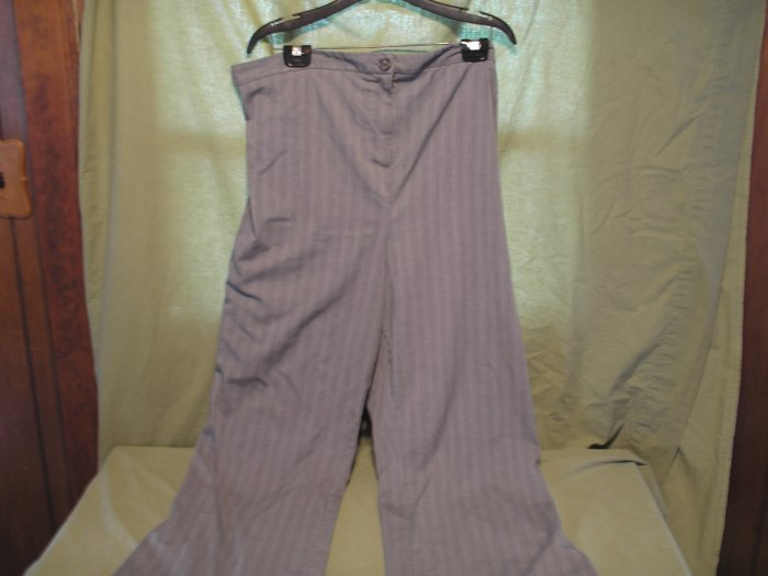 Gray Maternity Dress Pants