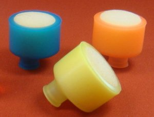 1/10 RC Bule/Yellow/Orange AIR FILTER 3pcs