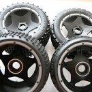 1/5 RC Plastic Wheels/Tires Fits HPI Baja 5B SS 2.0 KM