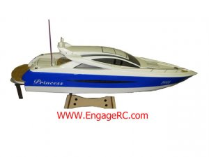 RC Princess EP Racing Boat 3660/1660KV Brushless125AESC