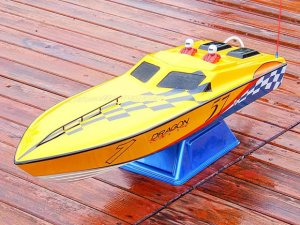 RC Challenger TFL Racing 26cc Gas Engine Boat RTR