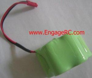 6V NI-CD 1800 mAh Hump Recharge Battery RC BUGGY TRUCK