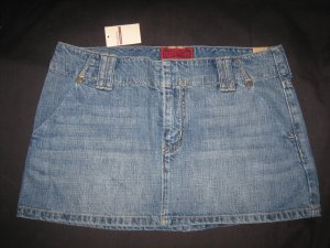 Hollister Jean Skirt Size 0 New With Tags Retail 39.50
