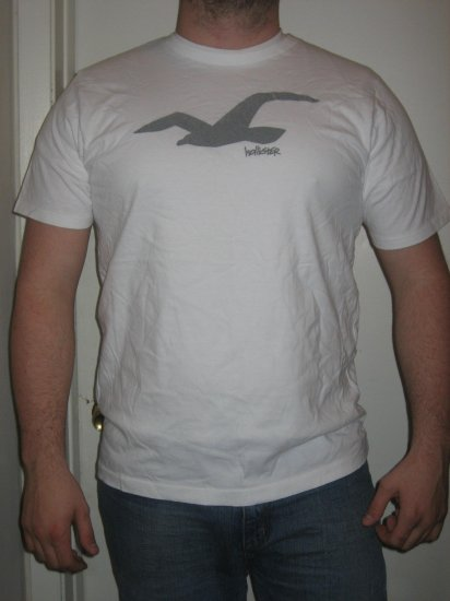 Hollister Logo T-Shirt Size XX Large New with tags