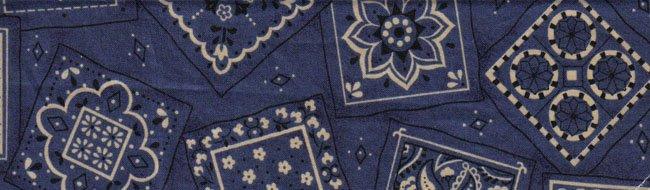 Dark Blue Designs Large