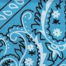 Blue Paisley - Med