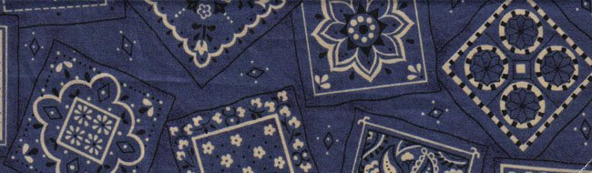 Dark Blue Designs - Large