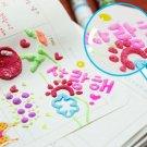 Magic Color Popcorn Pen (1set, 10 colors)