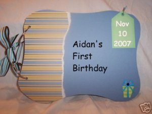 Boys Birthday Memory Books