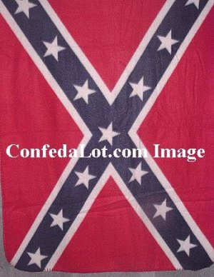 Confederate Baby Blanket made of Fine Baby and Child Safe Fleece NEW Nursery