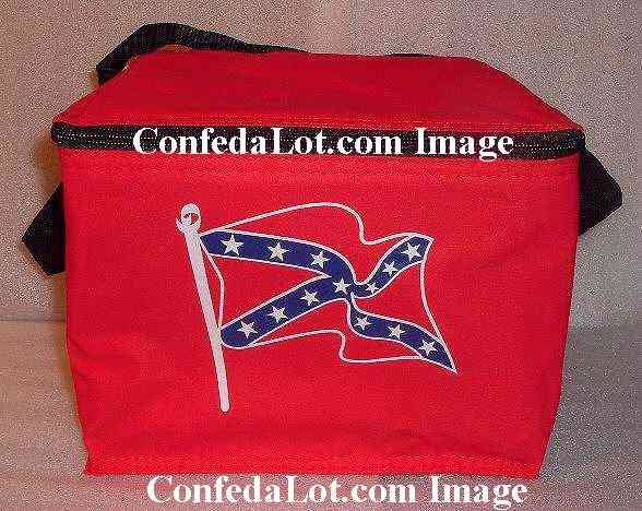 Confederate Insulated Cooler great for Beer Lunch Snacks and more NEW