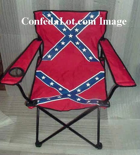 Confederate Beach and Lounge Chair with Mesh Drink Holder NEW