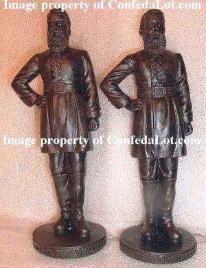 48 General James Longstreet Civil War Huge 6 Inch Statues NEW