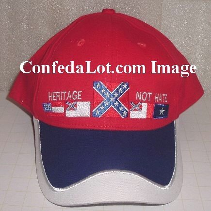 60 RED Confederate Caps NEW  Below WHOLESALE Priced