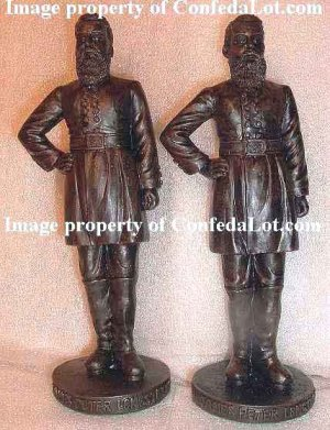 100 Huge 6 inch General James Longstreet Statues Civil War New BELOW WHOLESALE
