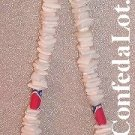 Puka Necklace Confederate Chip Shell  Beaded Necklace NEW