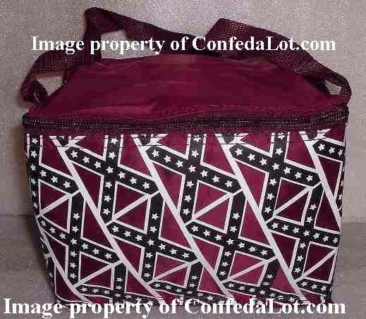 Insulated Cooler Confederate flag Insulated Cooler Carry All NEW - perfect for a 6 pak