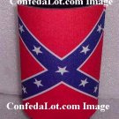 Confederate Bottle Can Koozie Coolie RED Keeps Drinks Cold or Hot NEW