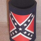 Confederate Bottle Can Koozie Coolie NAVY BLUE Keeps Drinks Cold or Hot NEW