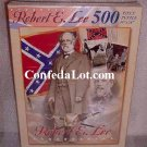 Puzzle Robert E Lee Confederate Flag 500 Piece Puzzle NEW