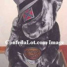 Confederate Bear Gray Velvet Bear Huge 24 inch High Soft n Plush NEW