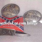 C S A  Blade Belt Buckle with Removable C S A Knife NEW