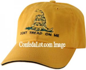 Don't Tread on Me Cap NEW Perfect for the Tea Party