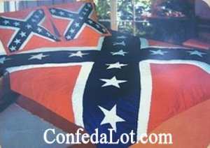 Confederate KING Quilt Comforter and Pillow Sham Set NEW