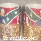 Confederate Robert E Lee Jefferson Davis Big 14oz Mug NEW Heavy duty fine Quality Porcelain