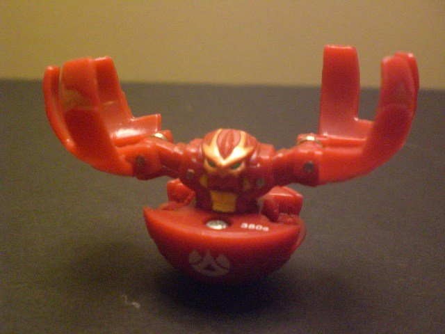 Bakugan Loose Fear Ripper 400G