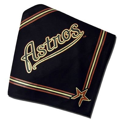 Houston Astros Official MLB Dog Bandana Size Small