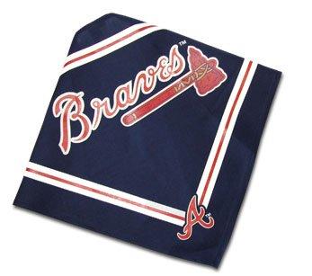 Atlanta Braves Official MLB Dog Bandana Size Medium Large