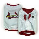 St Louis Cardinals MLB Dog Jersey Shirt Size XXS