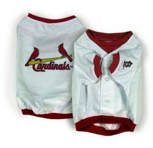 St Louis Cardinals MLB Dog Jersey Shirt Size Large