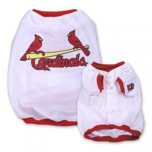 St Louis Cardinals Original MLB Dog Jersey Shirt Size Medium