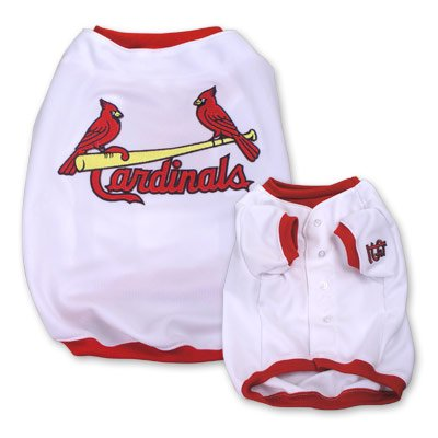 St Louis Cardinals Original MLB Dog Jersey Shirt Size Large