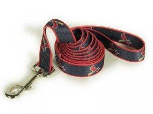 St Louis Cardinals Logo Dog Leash 6 Ft Narrow