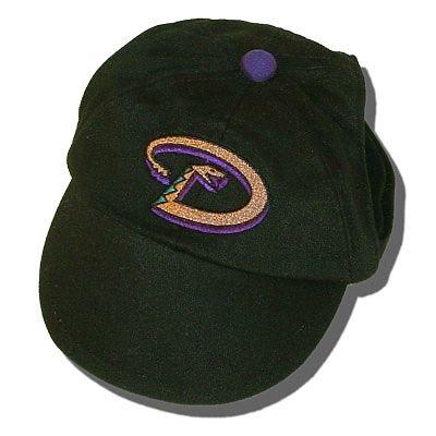 Arizona Diamondbacks MLB Dog Baseball Cap Hat Size XS