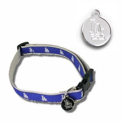 Los Angeles Dodgers MLB Dog Collar Size Small