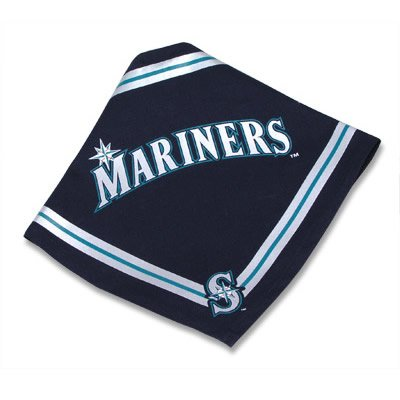 Seattle Mariners MLB Dog Bandana Size Small
