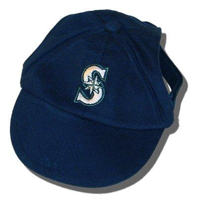 Seattle Mariners MLB Dog Baseball Cap Hat Size M/L