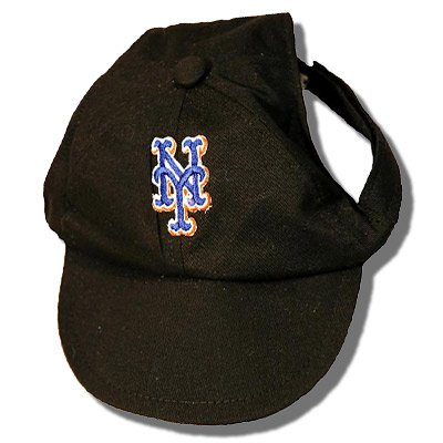 New York Mets Dog Baseball Cap Hat Size XS