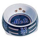 New York Mets MLB Dog Bowl Size Small