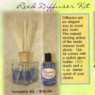 Sun Drenched Reed Diffuser Kit