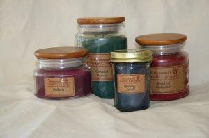 16 oz Lilac Jar Candle