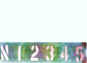 "CUSTOM PERSONALIZED COPPER ADDRESS SIGN 3"" X 12"""