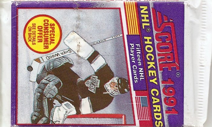 1991 SCORE NHL HOCKEY CARDS NIP
