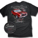 67 Camaro Legendary Muscle Black T-Shirt - 2XL