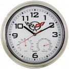 C5 Corvette Weather Station Wall Clock