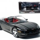 2005 C6 Corvette Black Convertible 1:24 Diecast